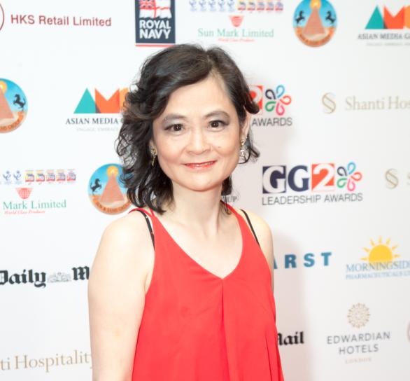 【圖輯】華人電台主播愛麗詩榮獲英國GG2頒發 年度模範領袖大獎